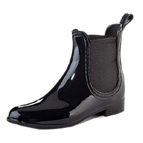 Clarity Black Ferrera Rain Boo - M - 8