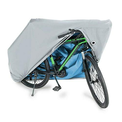 Fundaful Fahrradabdeckung, wasserdicht, für Mountainbikes und Rennräder, UV-beständig, 190T Oxford-Gewebe, robust, wasserdicht, Anti-Staub, Regen, 180 x 60 x 90 cm