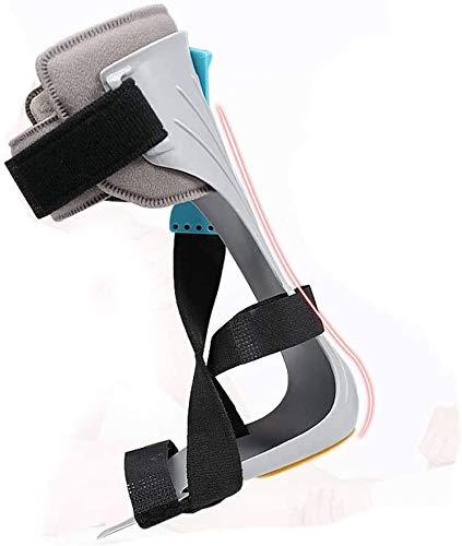 NQCT Einstellbare Fallfuß Orthese, Knöchel Corrector Unterstützung Klammer Mit X-Form Fuß Fix Strap Schutz Korrektur Splint leicht an-und ausziehen 9.14 (Color : Leftfoot, Size : Medium)