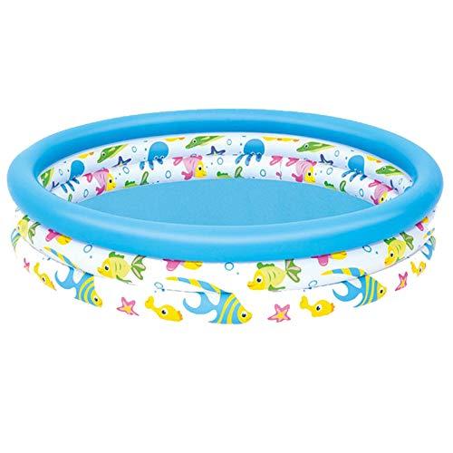 YUY Piscina Inflable Piscinas Plegables para El Patio Trasero del Hogar Piscina Redonda para Niños Piscina Acolchada Inflable Juego De Juguetes para Jardín Al Aire Libre para Niños Y Adultos