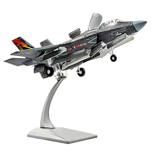 HANGHANG 1/72 F35B Lightning II Attack Fighter Plane Metal Aircraft Model Military Airplane Model Diecast Plane Model for Collection or Gift
