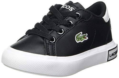Lacoste Unisex dziecięce buty typu sneaker Powercourt 0721 1 Sui, czarny - Blk Wht - 27 EU