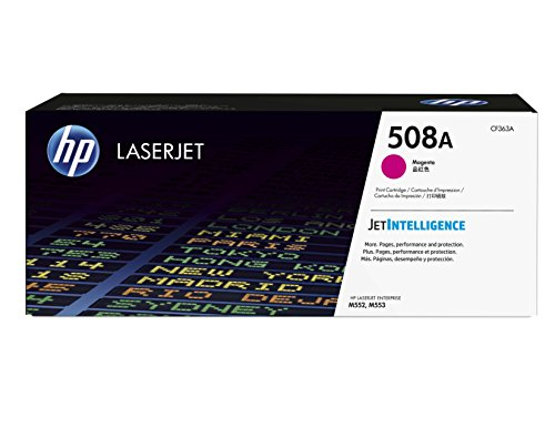 HP 508A (CF363A) Rot Original Toner für HP Color Laserjet Enterprise M552dn, M553, M577