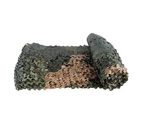 KXBYMX Filet de camouflage filet de camouflage de défense aérienne Écran solaire plante de fleur de jardin (Couleur : A, taille : 4 * 5m)