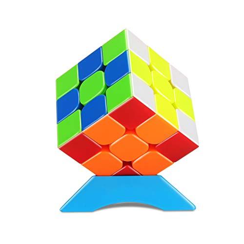 QiYi Zauberwürfel Magic Cube 3x3 Turning Smooth Magic Cube 3D Puzzle for Kids Twist Brain Teasers IQ Toys