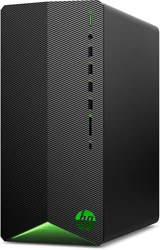 HP Pavilion Gaming TG01-1045ns PC – Desktop Gaming (AMD Ryzen 5 4600G, 16 GB RAM, SSD 512 GB, NVIDIA GTX 1660 Super 4 GB, FreeDOS) nero