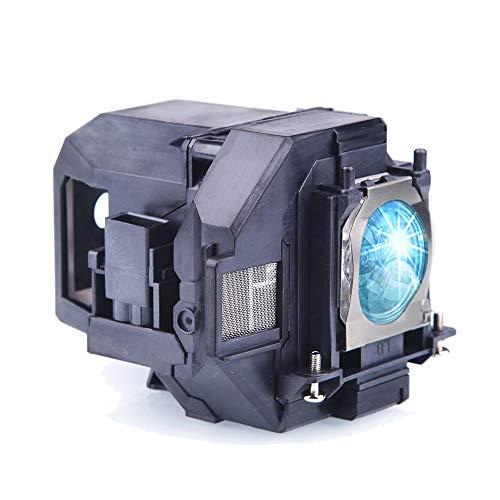 Lanwande V13H010L96 / ELPLP96 lampada proiettore di ricambio per Epson Home Cinema 1060 2100 2150 660 760, PowerLite 1266 1286 X39, VS250 VS350 VS355 EX5260 EH-TW5600 EB-W42 EB-2042 Proiettori