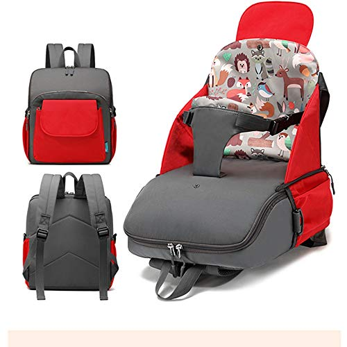 Backpack Harness Borsa for Sedia da Pranzo for Bambini Borsa for Mummia Portatile Multifunzione Baby Home out Sicurezza Seggiolino Auto for Bambini Cablaggio del Bambino Zaino