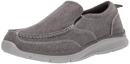 Amazon Essentials Men's Lander Loafer, Grey, 12 Medium US