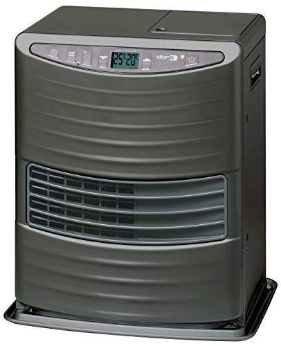KEROSUN LC 3000 Stufa a Combustibile Elettronica, portatile, 3000 W, grigio, da 19m2-48m2, senza installazione, termostato regolazione giornaliera (Ricondizionato)