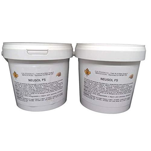 Neusol FS 2. Bacterias. Eliminar Olor de Fosa Séptica. Pack