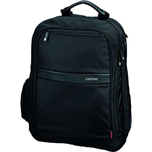 Lightpak 46103 - Laptop Rucksack Executive Line ECHO 1 aus Nylon, schwarz