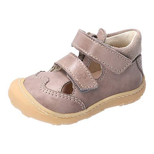 RICOSTA Unisex - Kinder Kletthalbschuhe EDO von Pepino, Weite: Mittel (WMS), strassenschuh Sneaker freizeitschuh junior toben,kies,24 EU / 7 Child UK