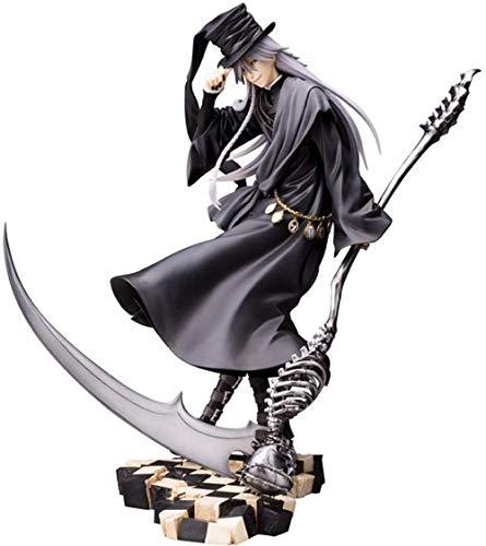 KIJIGHG Anime Black Butler Undertaker Figura de accion PVC Figura de Anime Figuras de accion Modelo de Personaje de Anime 21cm
