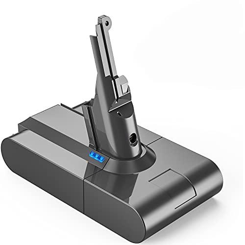 FLYLINKTECH Upgraded 4500mAh 21.6V V8 Battery Replacement for Dyson V8 SV10 Li-ion Battery Absolute Cordless Handhold Vacuum V8 Fluffy V8 Animal SV10