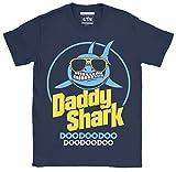 6TN Uomo T-Shirt Shark Daddy Doo Doo Doo Doo Doo Maglietta...
