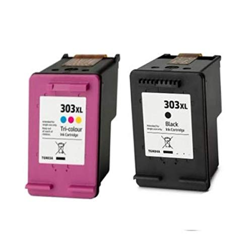 Pack Cartuchos Tinta Compatible para HP 303 XL Negro y Tricolor