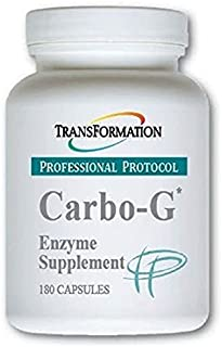 Transformation Enzymes - Carbo-G* Capsules - #1 Practitioner Recommended - Designed to Help Encourage Digestion of Gluten and Complex Carbs. (180)
