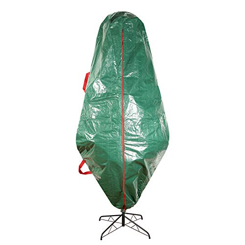 Sattiyrch Upright Christmas Tree Storage Bag – Tear Proof Material for Extra Durability – Holds up to 9 Foot Assembled Trees