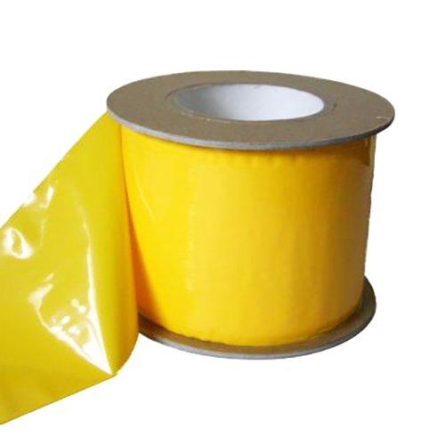 一色本店 害虫捕獲粘着ロール 新トルシーロール 黄色 幅100mm 長さ100m [0470]