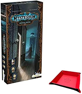 Mysterium: Secrets & Lies Expansion Game. Includes Unique Foldable Playing Piece / Dice Tray Holder Bundled with Game