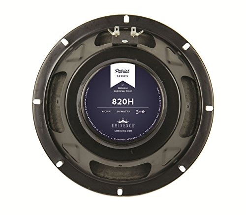 "3. Eminence 820H Patriot Series -  8"", 20 Watt"