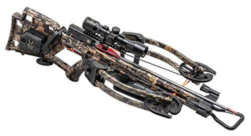 Wicked Ridge RDX 400 Crossbow with ACUdraw, Multi-Line Scope, Package