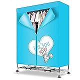 Secadora eléctrica rápida de 2000 vatios, armario de secad