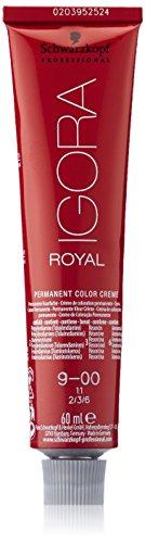 Schwarzkopf IGORA Royal Premium-Haarfarbe 9-00 extra hellblond natur extra, 1er Pack (1 x 60 g)