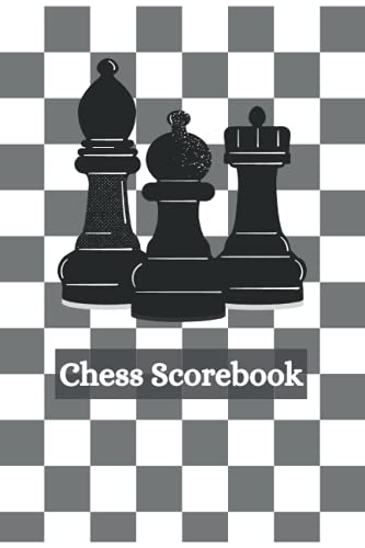 Chess Scorebook : Chess Score Notebook 100 Games - Chess Game Record Keeper Book: Track Your Moves & Analyse Your Strategies , Perfect Gift for Chess Lovers (90 Moves)