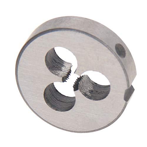 Utoolmart M2.5 X 0.45 Metric Round Die, Machine Thread Right Hand Threading Die, Alloy Steel 1Pcs