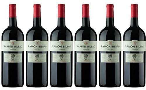 6x Ramon Bilbao Rioja Crianza DOCa Magnum 2016 - Weingut Bodegas Ramón Bilbao, La Rioja - Rotwein