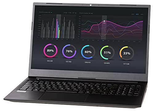 NEXOC Office Notebook (15,6 Zoll Full HD) mit Celeron N4120 (Burst bis 2.60GHz), 1TB SSD, 8GB DDR4 RAM, ohne Windows (N5 40 21V1)