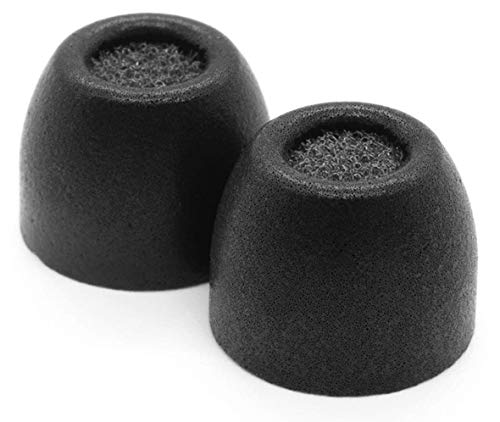 Medium with SweatGuard Black Comply Truly Wireless Pro Foam Tips for Jabra Elite 65t /& Active 65t Secure Fit Tips Made from Secure Fitting and Comfortable Memory Foam 3 Pairs