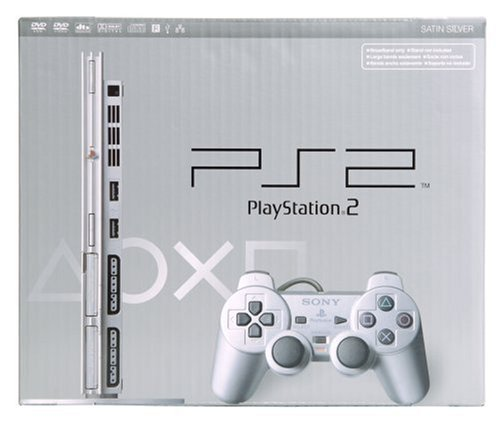 PlayStation 2 Slim Console - Silver [video game]