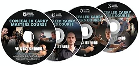 SEALed Mindset Concealed Carry Masters Course DVDs From Retired Team 3 SEAL, Larry Yatch. Includes instruction, follow along dry fire drills, and live fire drills