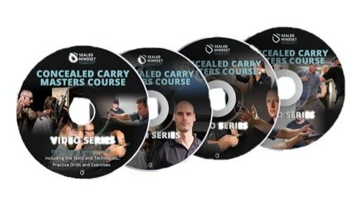 Concealed Carry Masters Course DVDs from Retired Team 3 Seal, Larry Yatch. Includes Instruction, Follow Along Dry fire Drills, and Live fire Drills