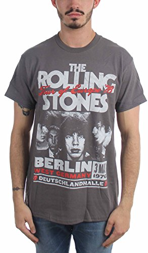 Rolling Stones, The - T-Shirt - Uomo Gray XX-Large