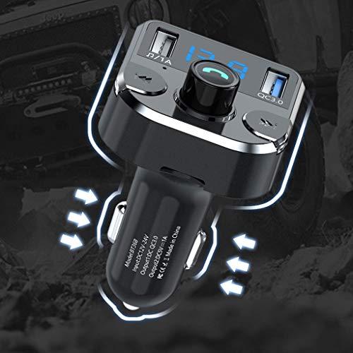 Multifunctionele bluetooth-ontvanger, auto-MP3-speler, Bluetooth-ontvanger, aansteker, hoogwaardige oplader voor mobiele telefoon