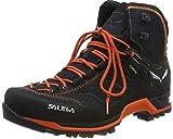 Salewa Men's High Rise Hiking Shoes, Asphalt/Fluo Orange, 12