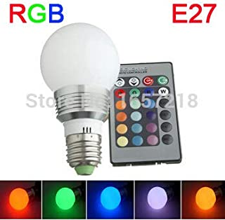 Transporter-Galaxy - RGB RGBW bulb 3W 5W lamp led e27 dimmable couleur ampoule led lampadine colore lampadina lampen led eclairage lampe 110V 220V