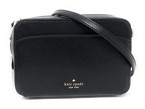 Kate Spade New York Lauryn Camera Crossbody Bag in Black