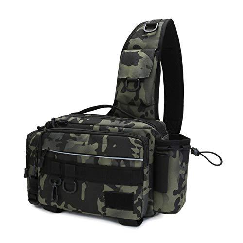 Multifunktionales Fischen Taktische militärische Umhängetasche Jagd Camping Taille Pack Fisch Tackle Köder Ausrüstung Umhängetasche