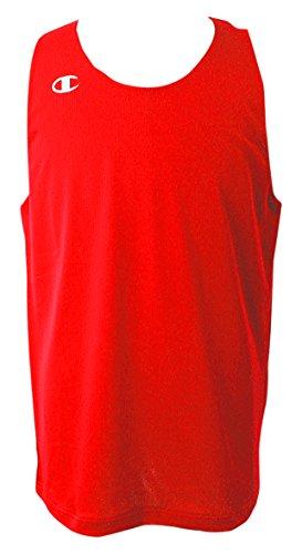 [チャンピオン] タンクトップ ワンポイントロゴ リバーシブルタンクトップ バスケットボール REVERSIBLE CBR2300 メンズ スカーレット S