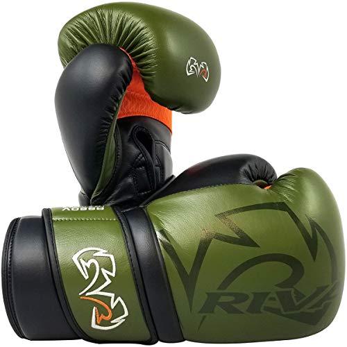 RIVAL Boxing RS80V Impulse Sparring Gloves - 18 oz. - Khaki Green