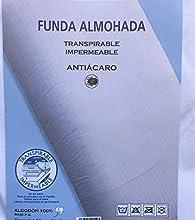 HCZ Funda Almohada 105cm, Transpirable y impermerble, 2 Unidades