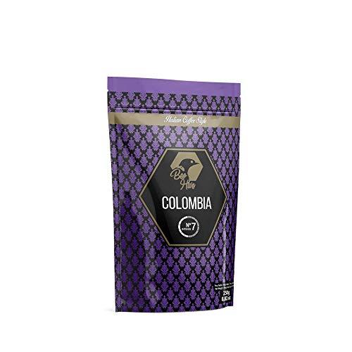 Beo Hive | Café en Grano | Cafe Crema Colombia 100% Arábica | 250 g | Aromático y de Tueste Natural | Café en Grano Natural | Sabor Intenso | Café Seleccionado de Primera Calidad