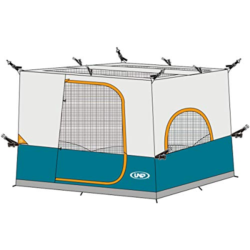 UNP Winter Canopy Tent for Camping Inner Tent for 10' x 10' Pop Up Canopy,Gazebo/Sewn-in Floor and...