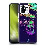 Head Case Designs Retrato del Gorila Impresiones Pop Agreste Carcasa de Gel de Silicona Compatible con Xiaomi Mi 11