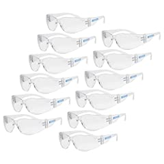 ANSI Z87+ Certified UV (UVA and UVB radiation) protection High transparency polycarbonate high impact lenses with scratch-resistant coating and hi-flex frame for reduced used fatigue and improved hold.